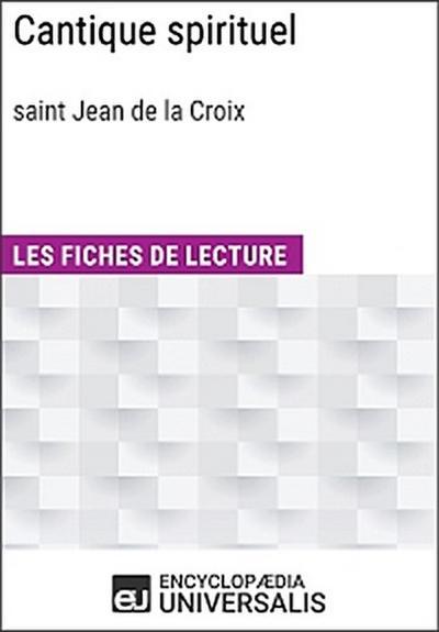 Cantique spirituel de saint Jean de la Croix