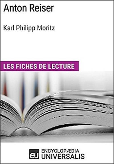 Anton Reiser de Karl Philipp Moritz