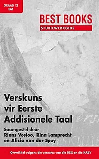 Best Books Studiewerkgids: Verskuns vir Gr 12 EAT