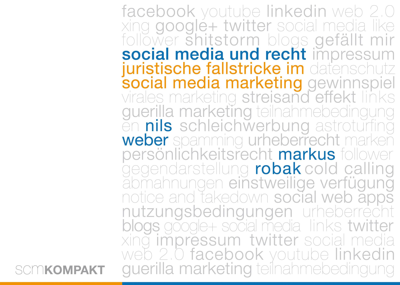 Social Media und Recht Markus Robak