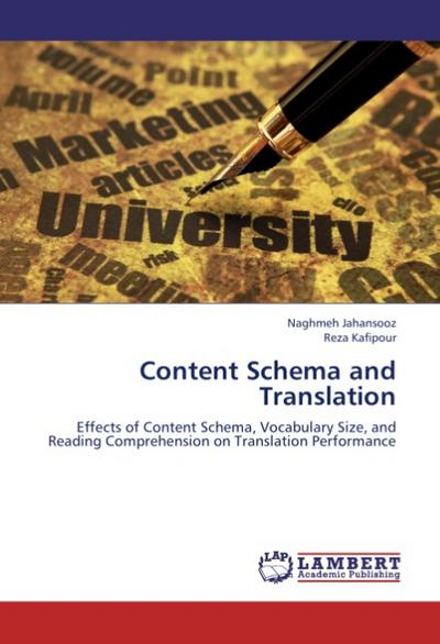Content Schema and Translation