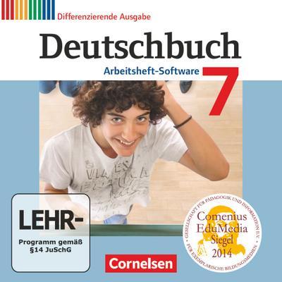Deutschbuch 7. Schuljahr. Übungs-CD-ROM zum Arbeitsheft