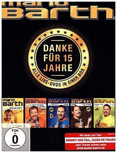 Danke für 15 Jahre: Die Box - Alle 5 Live-DVDs in einer Box