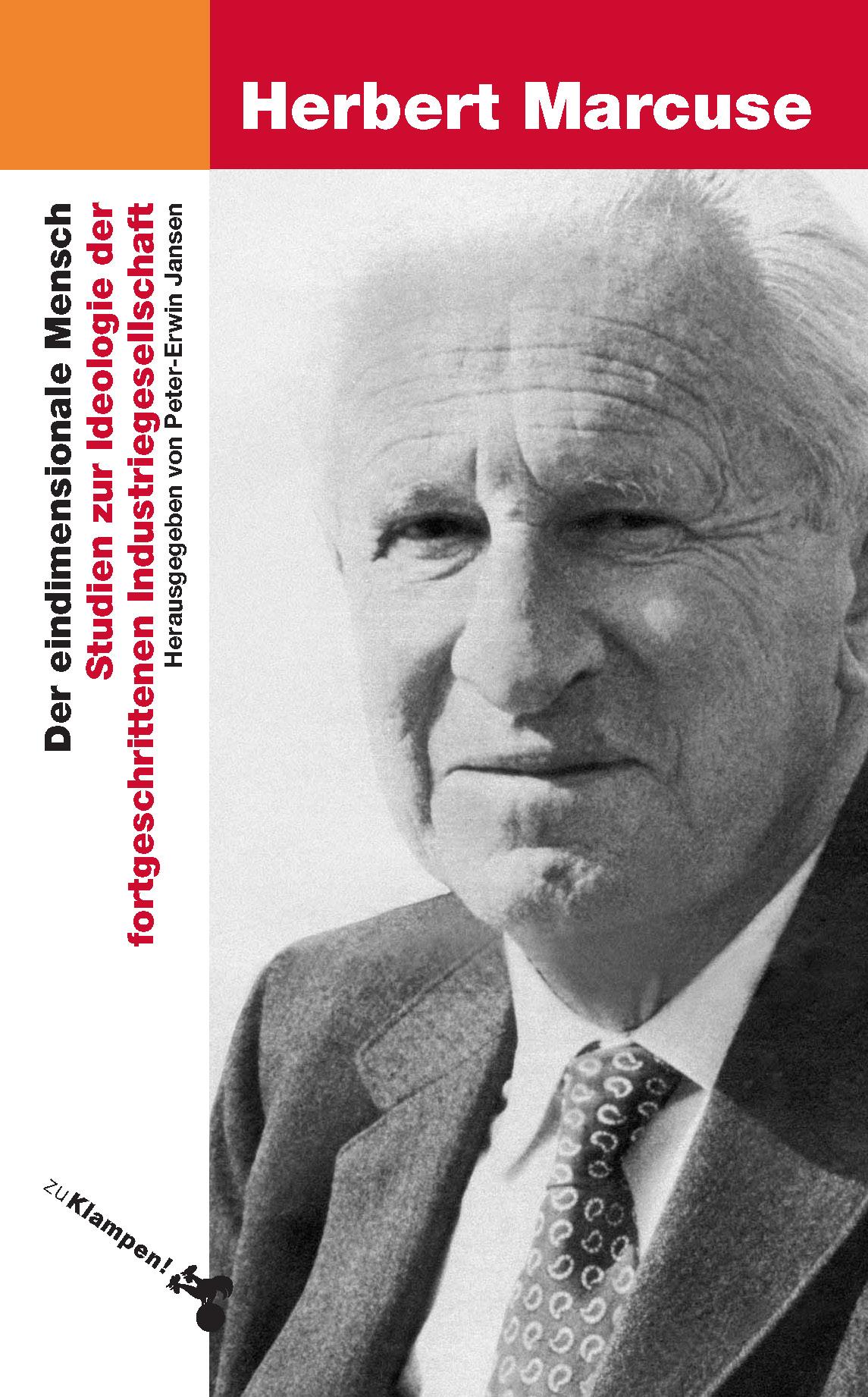 Herbert Marcuse , Der eindimensionale Mensch ,  9783866742390