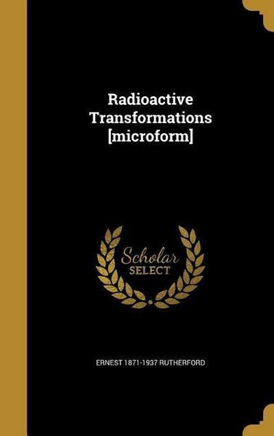 RADIOACTIVE TRANSFORMATIONS MI