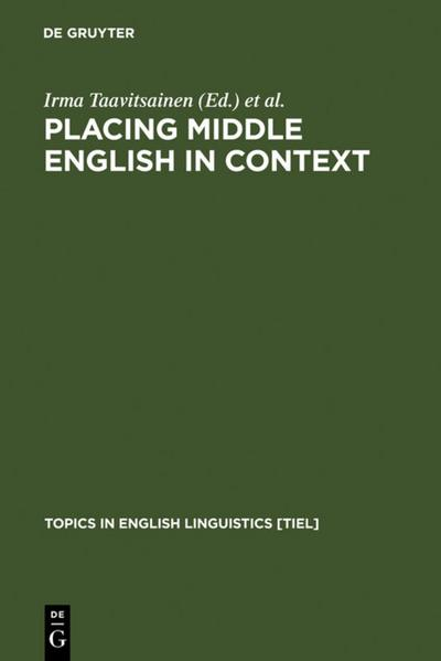 Placing Middle English in Context