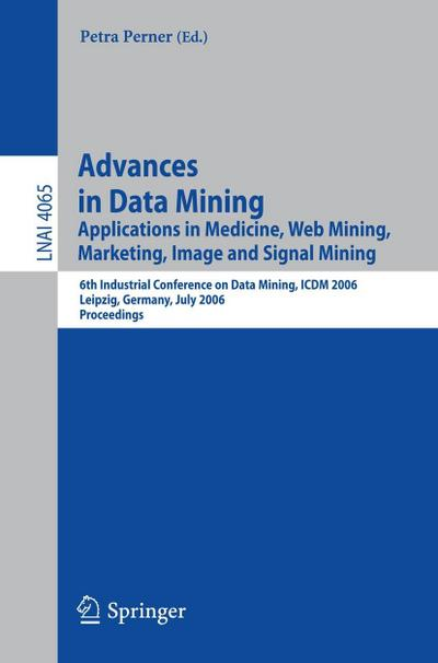 Advances in Data Mining