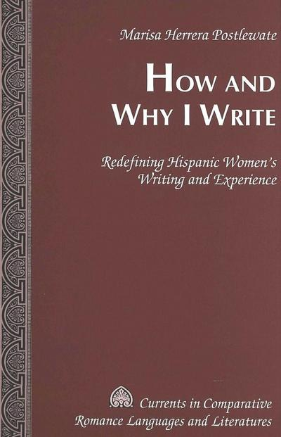 How and Why I Write