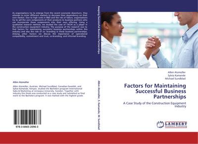 Factors for Maintaining Successful Business Partnerships