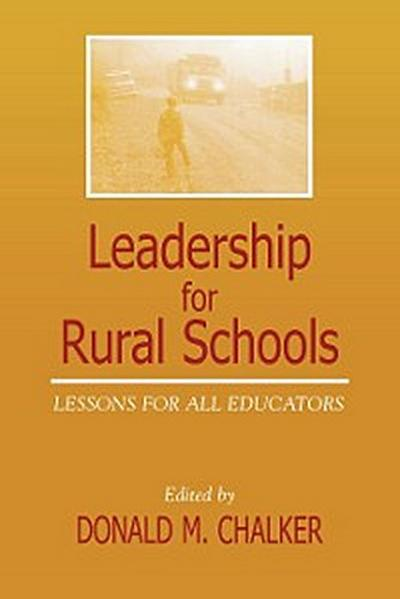 Leadership for Rural Schools