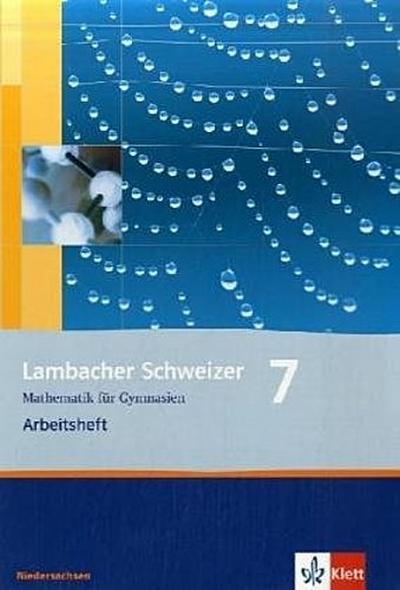 Lambacher Schweizer. 7. Schuljahr. Arbeitsheft plus Lösungsheft. Niedersachsen