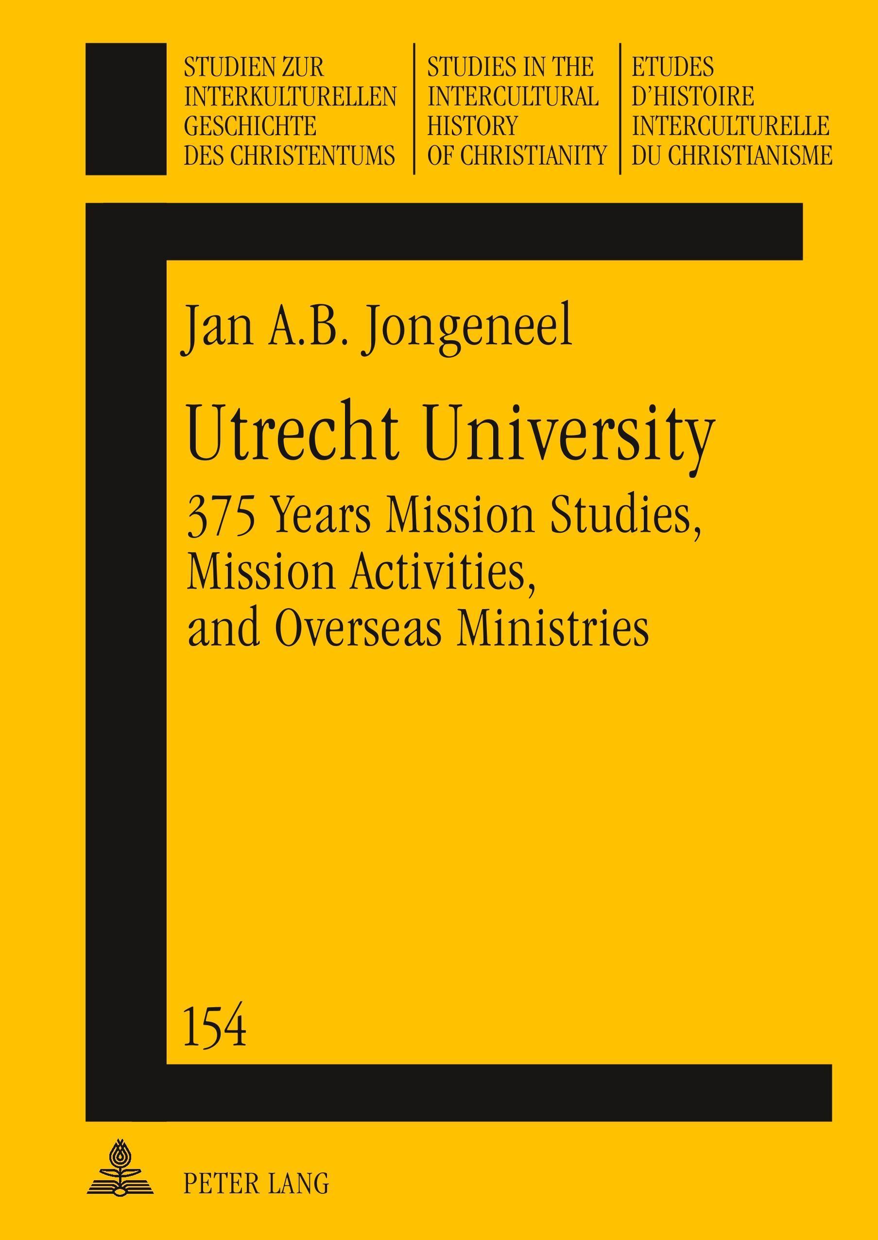 Utrecht University Jan Jongeneel