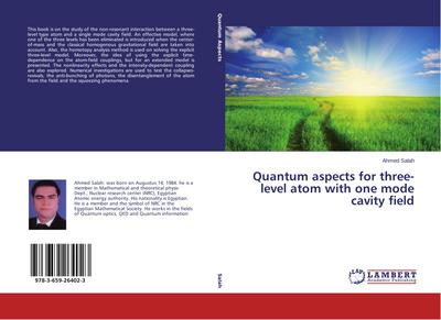 Quantum aspects for three-level atom with one mode cavity field