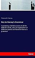 Key to Harvey's Grammar