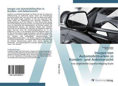 Images von Automobilmarken in Kunden- und Anbietersicht