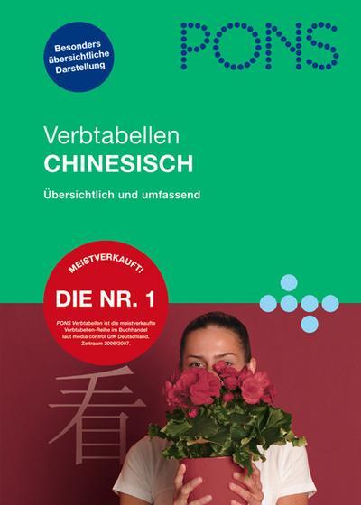 PONS Verbtabellen Chinesisch: Übersichtlich und umfassend von Song, Jing (2008) Broschiert