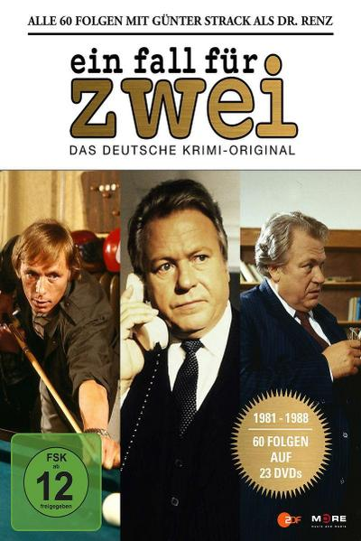 Ein Fall für Zwei - Günter Strack Box DVD-Box