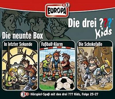 Die drei ??? Kids. 3er Box Folgen 25 - 27 (drei Fragezeichen) 3 CDs