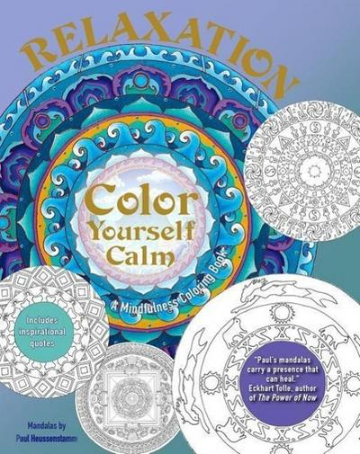 Relaxation: A Mindfulness Coloring Book