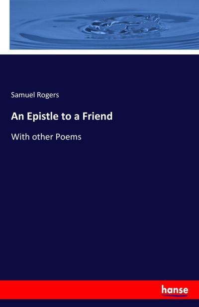 An Epistle to a Friend
