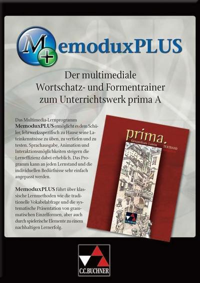 MemoDux Plus. Prima A. CD-ROM für Windows Vista/XP/2000