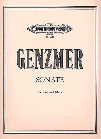 Sonatefür Klarinette und Klavier