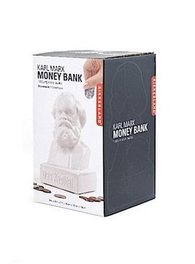 Kikkerland Skull Coin Bank Karl Marx weiß - Kikkerland - Misc., Deutsch, , ,