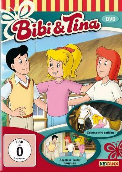 Bibi und Tina - Abenteuer in der Burgruine/Sabrina wird entführt