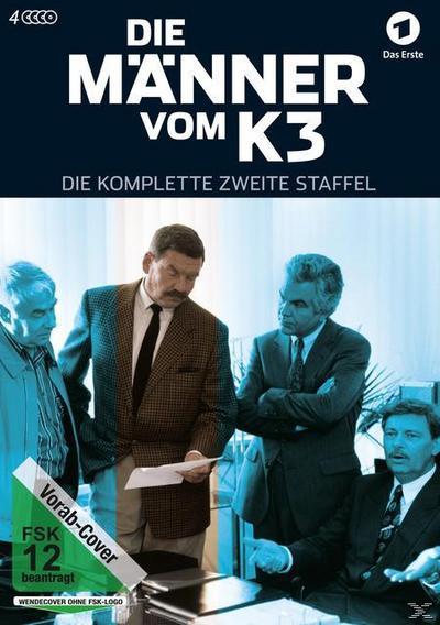 Die Männer vom K 3 - Die komplette zweite Staffel DVD-Box