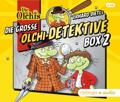 Die große Olchi-Detektive Box 2 (4CD)