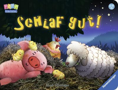 Schlaf gut!; Ill. v. Wittlinger, Heidi; Deutsch; durchg. farb. Ill. u. Text, mit Klappen