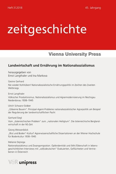Landwirtschaft und Ernährung im Nationalsozialismus