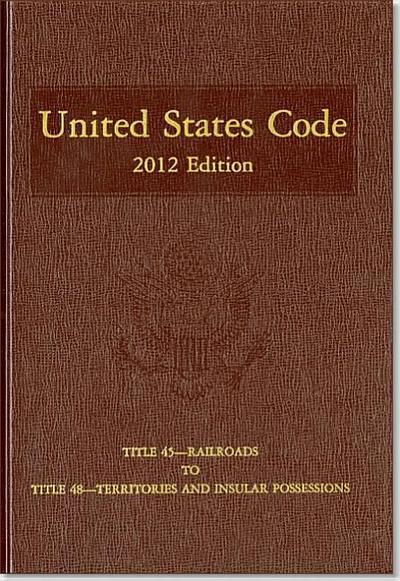 United States Code 2012: Vol. 32