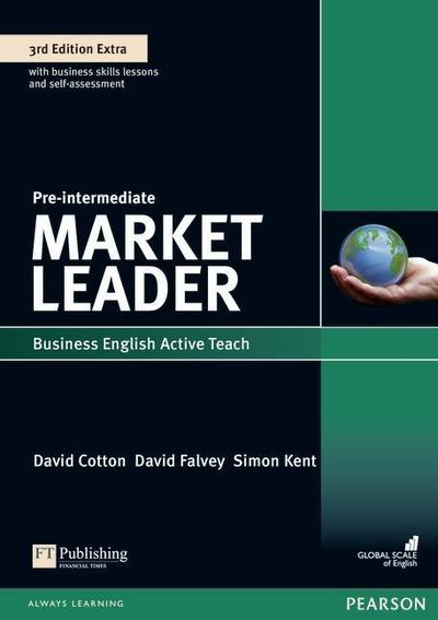 Market Leader 3rd Edition Extra Pre-Intermediate Active Teach CD-ROM, CD-ROM