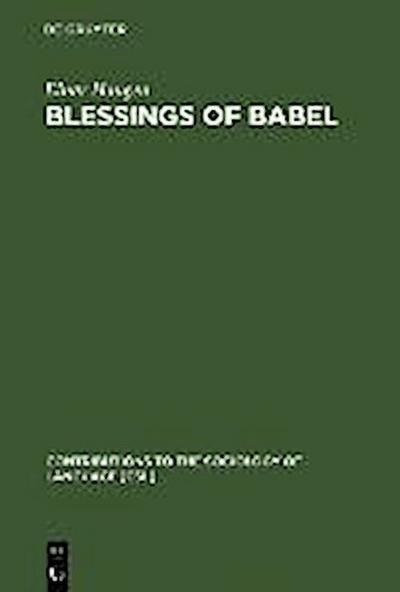 Blessings of Babel