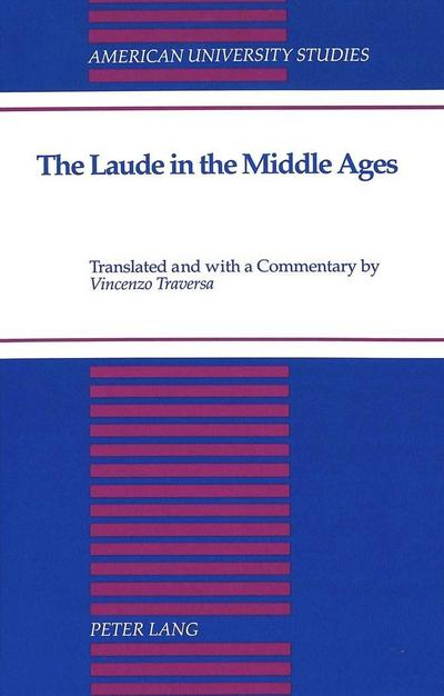 The Laude in the Middle Ages