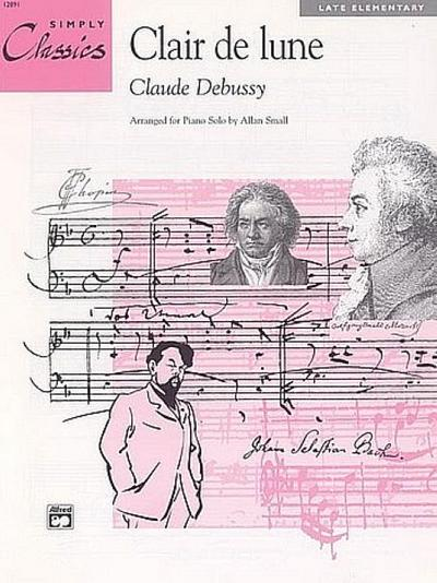 Clair de Lune: From Suite Bergamasque, Sheet