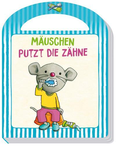 Mäuschen putzt die Zähne