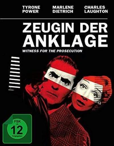 Zeugin der Anklage, 1 Blu-ray (Mediabook)