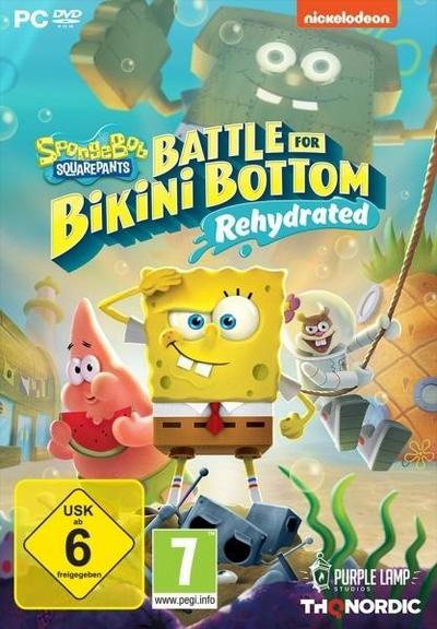 Spongebob SquarePants: Battle for Bikini Bottom - Rehydrated. Für Windows 8/10