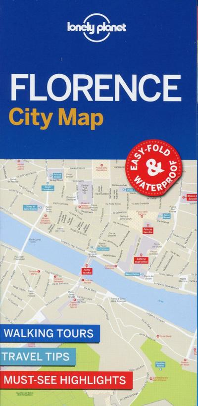 Lonely Planet FlorenceCity Map (Travel Guide)