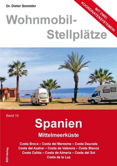 Wohnmobil Stellplatzführer Spanien