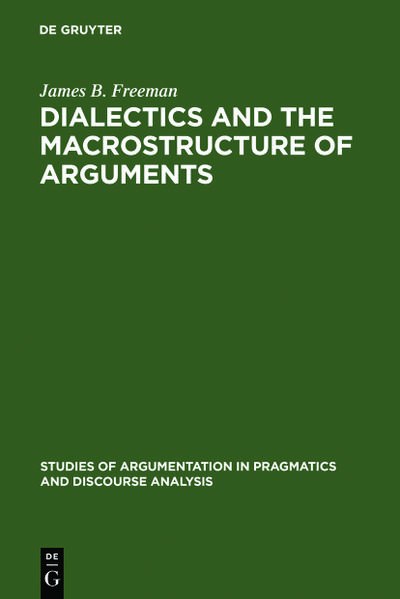 Dialectics and the Macrostructure of Arguments