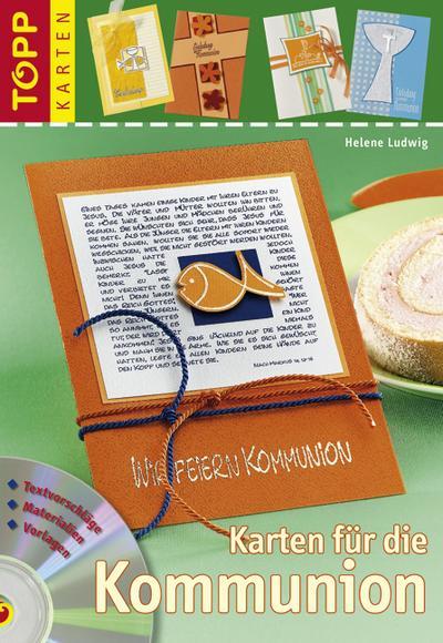 Karten für die Kommunion: Einladungs-, Menü- & Tischkarten