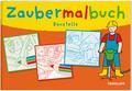 Zaubermalbuch Baustelle; Für kleine Zauberer ab 3 Jahren; Malbücher und -blöcke; Ill. v. Beurenmeister, Corina/Matthies, Don Oliver; Deutsch; s/w illustriert