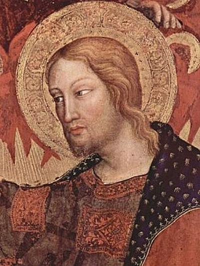 Gentile da Fabriano - Marienkrönung, Haupttafel, Szene: Marienkrönung, Detail: Christus - 200 Teile (Puzzle)