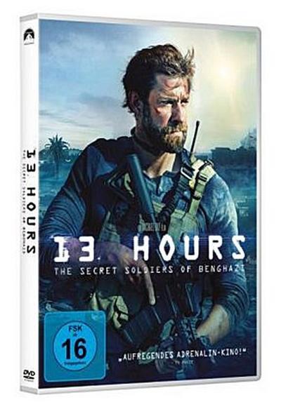 13 Hours: The Secret Soldiers of Benghazi, 1 DVD