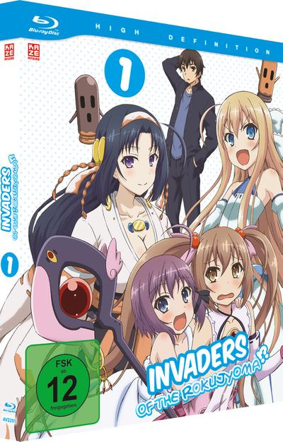 Invaders of the Rokujyoma. Vol.1, 1 Blu-ray