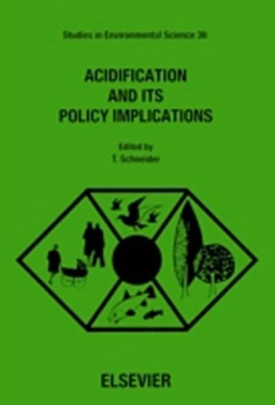 Acidification and its Policy Implications
