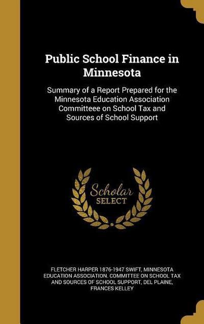 PUBLIC SCHOOL FINANCE IN MINNE